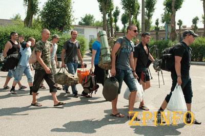 150 запорожцев отправились на учения во Львовскую область