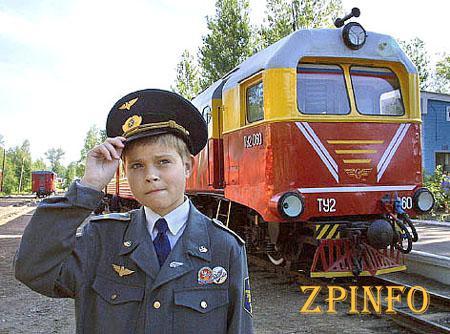 Запорожскую детскую железную дорогу обновят к ее 40-летию