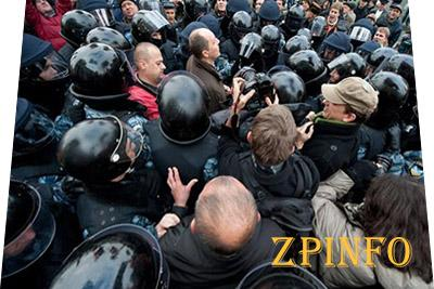 48 пострадавших - таков итог вчерашних стычек в Запорожье