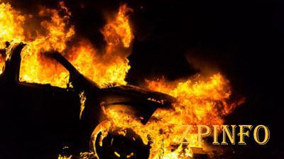 В Запорожье за сутки сгорели две машины