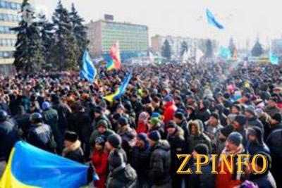 Антипутинские митинги прошли по всей восточной Украине