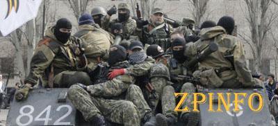 Боевики атакуют вдоль  всей линии соприкосновения