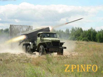 Боевики используют артиллерию запрещенного калибра (Видео)