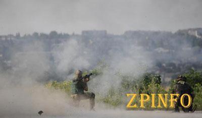 Боевики опять обстреляли Марьинку (Видео)
