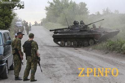 Боевики подтягивают свои войска к позициям сил АТО