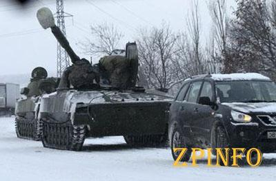 Боевики продолжают переброску технику на Донбассе