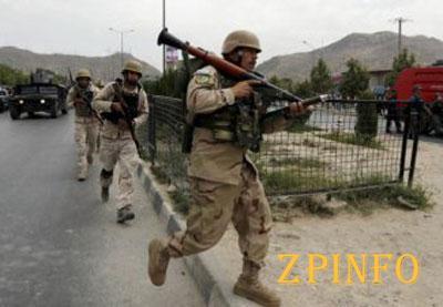 """Боевики """"Талибан"""" напали на здание парламента в Кабуле (Видео)"""
