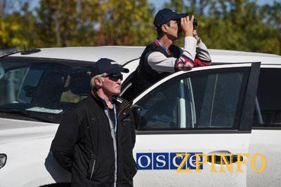 Боевики угрожают наблюдателям ОБСЕ