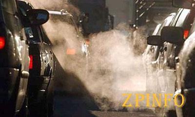 Более трети выбросов в Запорожье приходится на автотранспорт