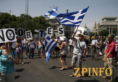 Большинство греков выступают против соглашения с кредиторами (Видео)