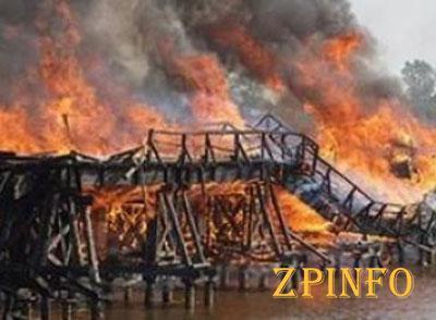 Чтобы подорвать мост в Запорожской области использовали 100 кг тротила