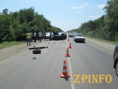 ДТП в Запорожской области: 1 человек погиб, 7 пострадали