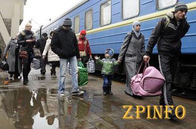 Ежедневно в Запорожье от войны бегут 5 человек