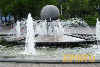 Фонтаны в Запорожье запустят к 1 мая