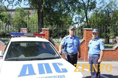 ГАИ установила личность водителя, сбившего двух девочек в центре Запорожья
