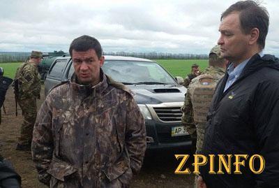 Григорий Самардак проверил строительство оборонительных сооружений в зоне АТО