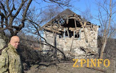 Из-за ожесточенных боев жителям Крымского пришлось прятаться в подвалах