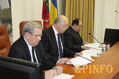 Изменения в Запорожской областной администрации