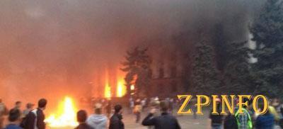 К пожару в доме профсоюзов в Одессе причастны российские спецслужбы (Видео)