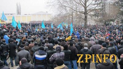 Как татары вчера Крым спасали...