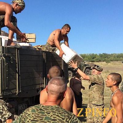 Львовские активисты доставили 50 т помощи для бойцов в зону АТО