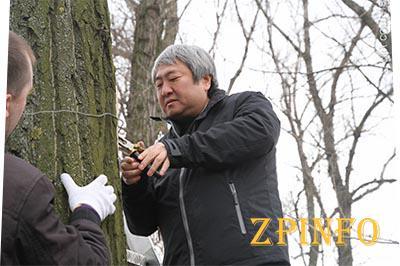 "Мэр Запорожья ""прописался"" в запорожских парках"