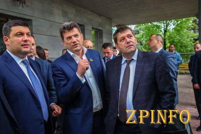 Мэр Запорожья уехал в Грузию