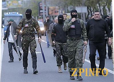 Милиционеры отрицают свою вину  и бездействие в стычках в Донецке