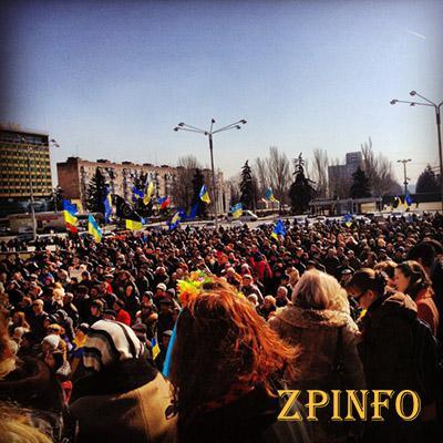Митинг в честь 200-летия Шевченко закончился потасовкой