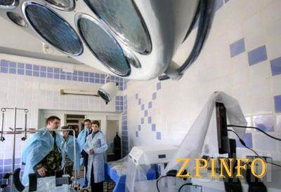 Мобильный госпиталь из Запорожской области перенесли ближе к передовой
