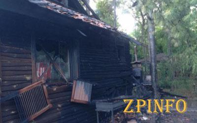 На Хортице горел гостевой дом