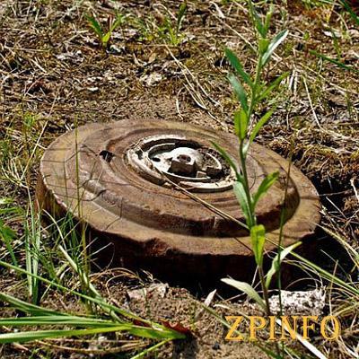 На Сыхове обезвредили противотанковую мину