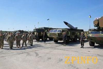 На улицах Запорожья появится военная техника
