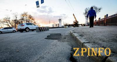 На выходных в Запорожье начнется ремонт моста на 12 Апреля