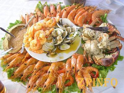 На запорожском курорте устроят фестиваль морепродуктов