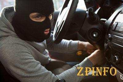 Ночью у жителя Запорожской области угнали авто