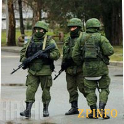 О «зеленых человечках» в Запорожье сообщайте по телефонам 102