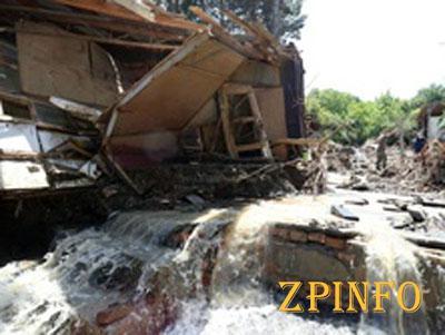 Очередной оползень может вызвать еще одно наводнение в Тбилиси (Видео)
