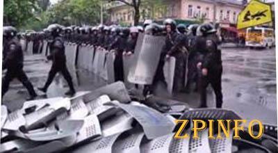 Одесские милиционеры пошли против своего народа