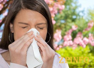 Около половины запорожцев страдают аллергических заболеваний