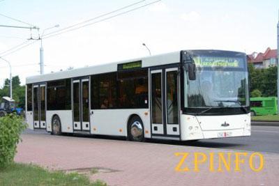 Осенью в Запорожье появится 10 новых вместительных автобусов