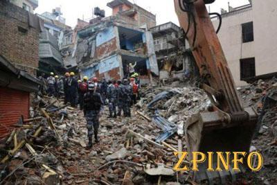 От землетрясения в Непале погибло 8,5 тысяч человек (Видео)
