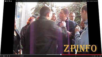 Видео похищения горловского депутата Рыбака