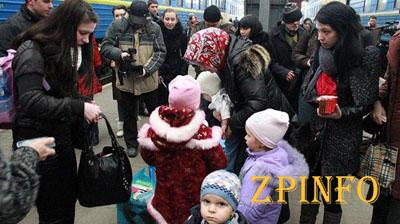 Поток беженцев в Запорожскую область опять увеличился