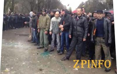 Пророссийские митингующие были вооружены