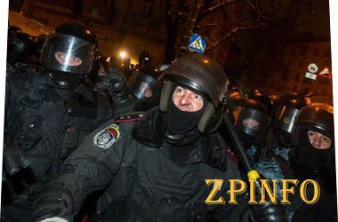 Расследовании разгона Майдана в Запорожье