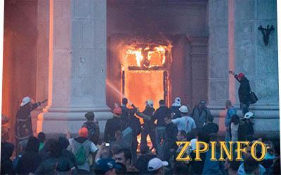 Расследовать причины пожара в одесском Доме профсоюзов будут иностранные эксперты
