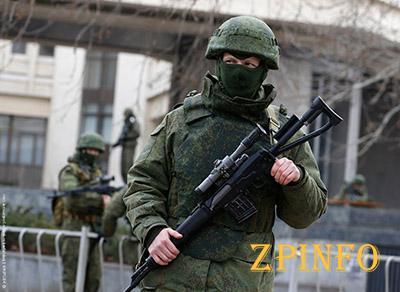 Российские окупанты не покидают Крым