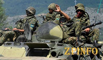 Российские военные уже на территории Запорожской области?