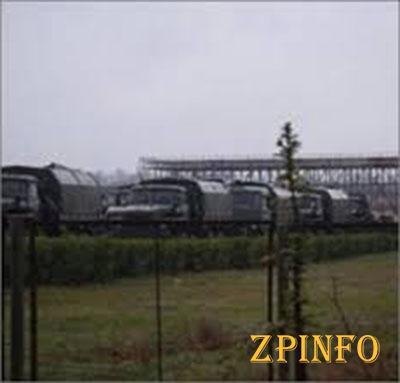 Российские военные захватили военную часть в Евпатории